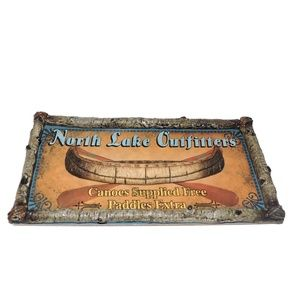 Rivers Edge North Face Outfitters Rustic Wall Art